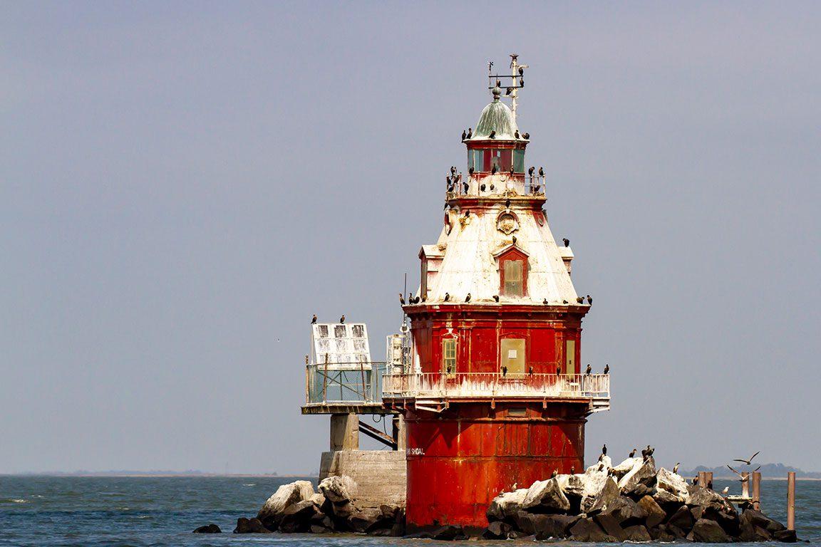 Delaware Lighthouses- Ship John Shoal