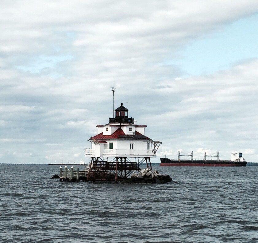 Maryland Lighthouse - Annapolis MD - Thomas Point Shoal Lighthouse