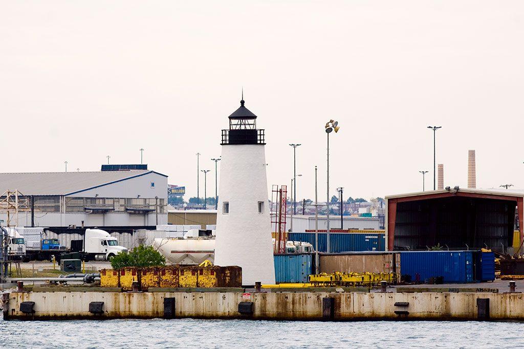 Maryland Lighthouses - Baltimore- Lazaretto Point Lighthouse
