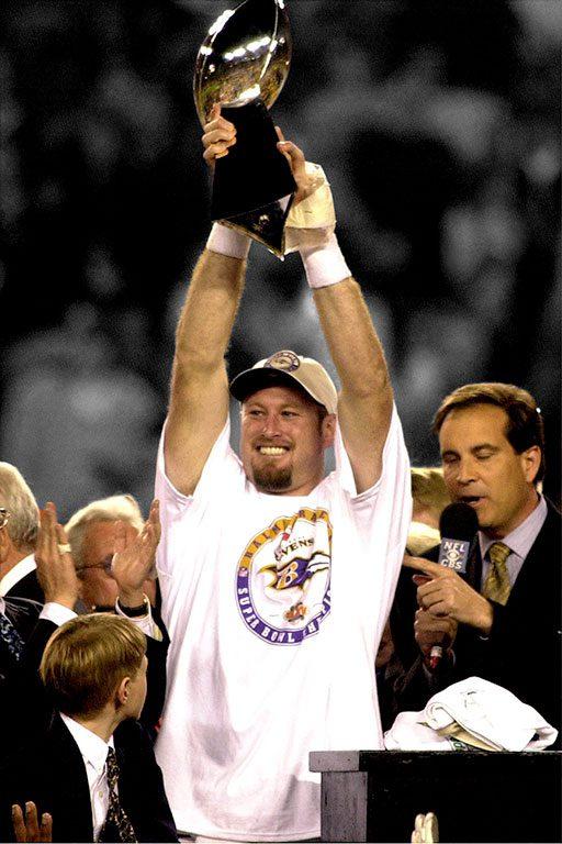 Baltimore Ravens- Quarterback Trent Dilfer-Super Bowl XXXV