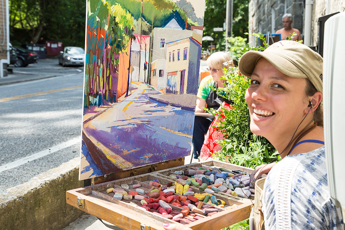 ELLICOTT CITY MARYLAND- Plein Air in Ellicott City MD