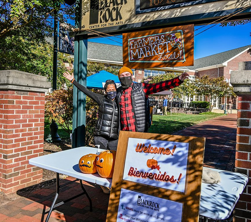 Farmers Market at BlackRock Center for the Arts in Germantown MD