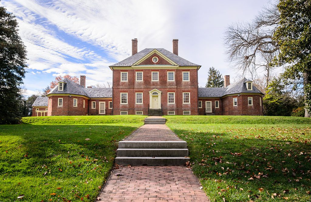 Montpelier Mansion -home of Major Thomas Showden - Laurel Maryland