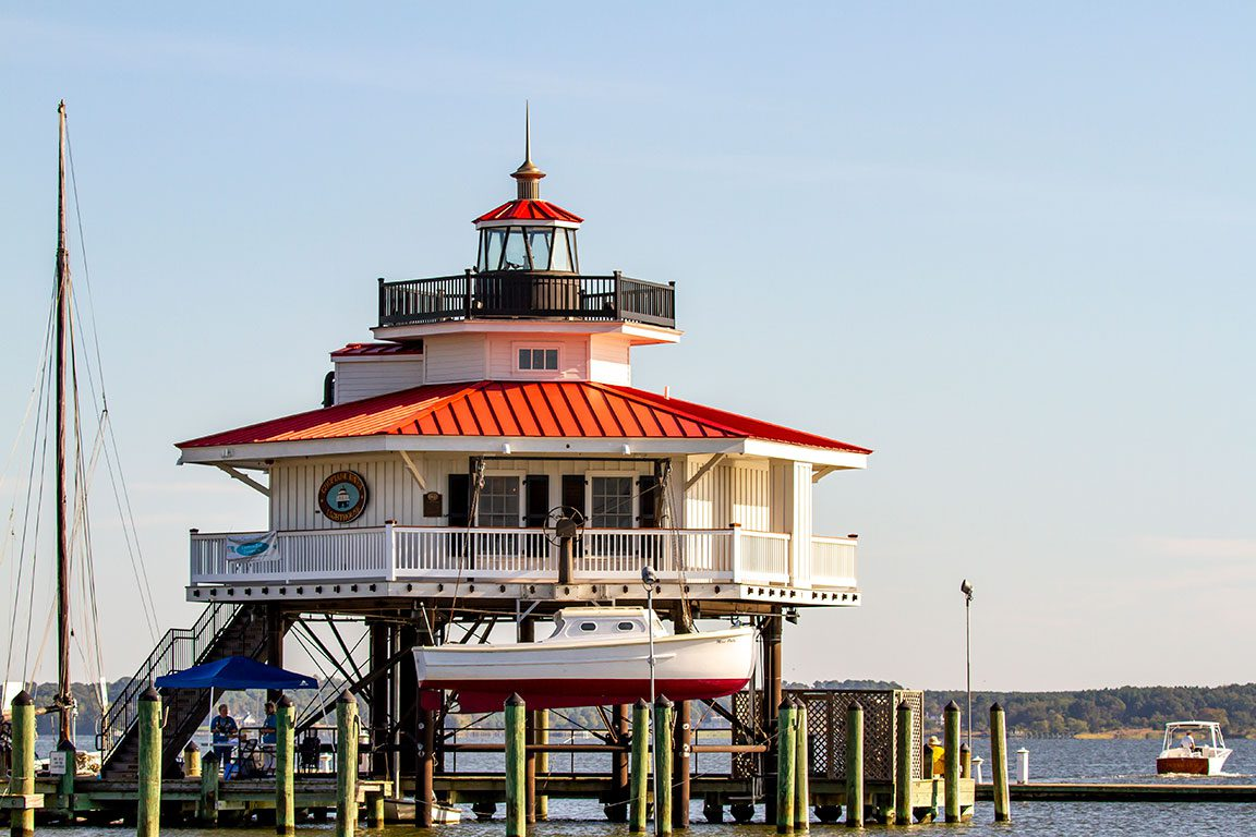 Maryland Lighthouses - Choptank River Lighthouse