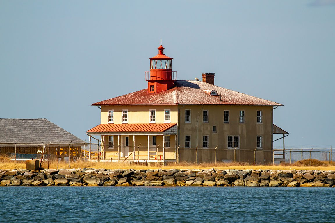 Maryland Lighthouses- Point Lookout Lighthouse