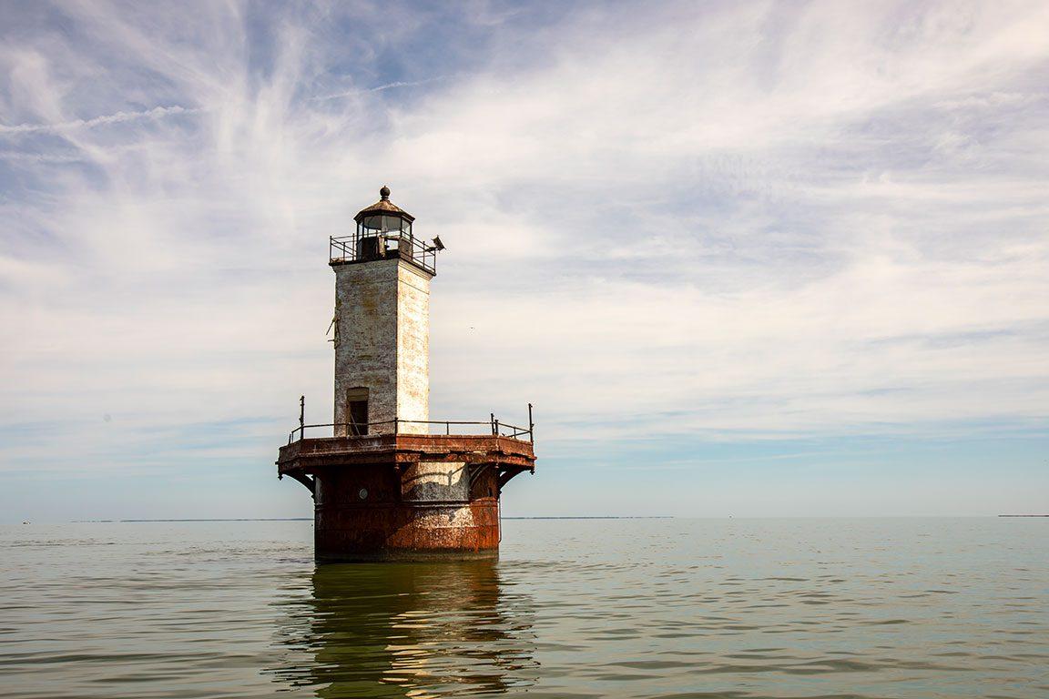Maryland Lighthouses - Solomons Lump Lighthouse