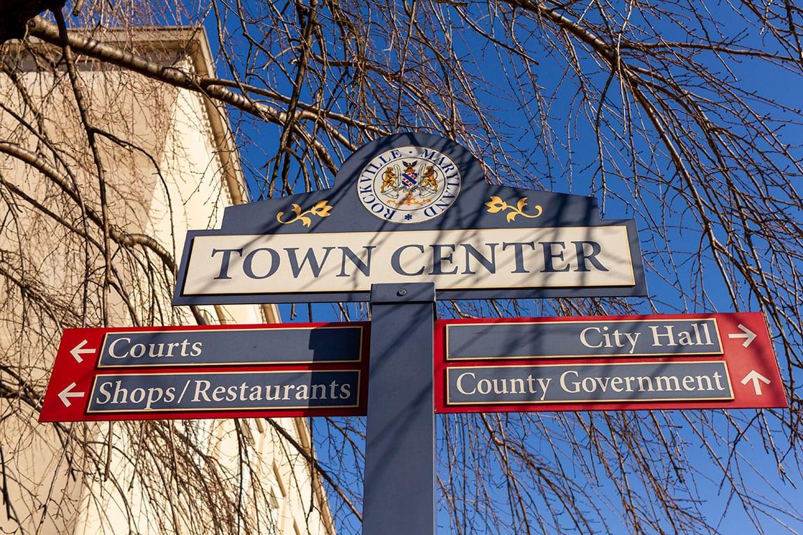 Rockville Town Center in Rockville Maryland