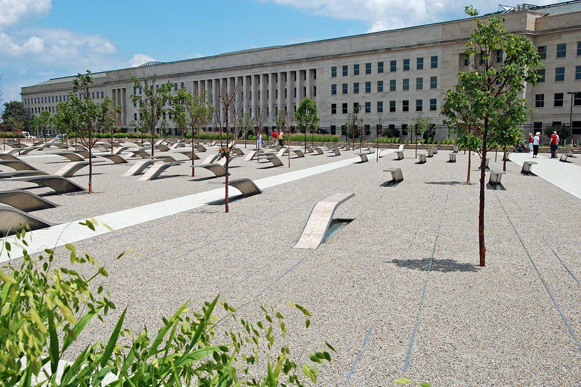 Pentagon 9-11 Memorial in Arlington Virginia