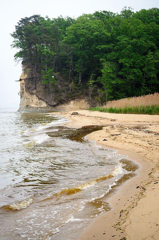 Beaches in Virginia- Westmoreland State Park