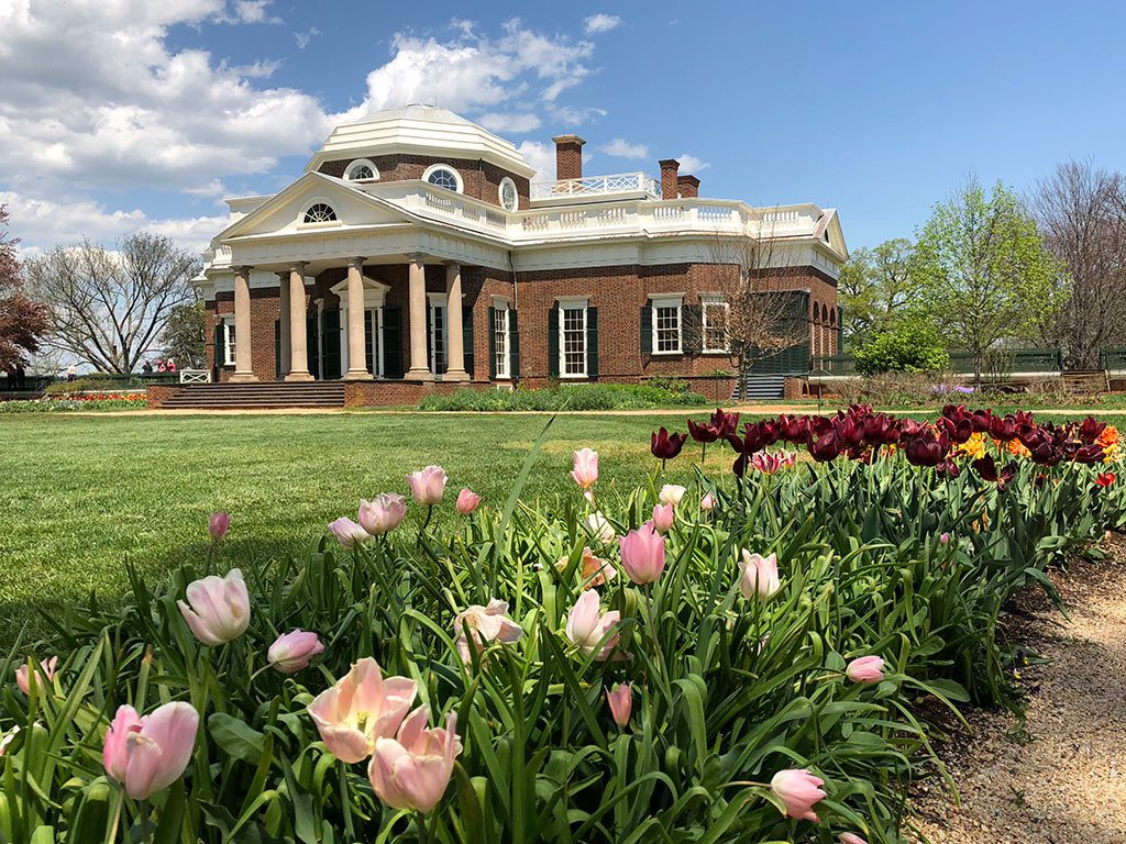 Things to do in Virginia- Monticello in Charlottesville Virginia