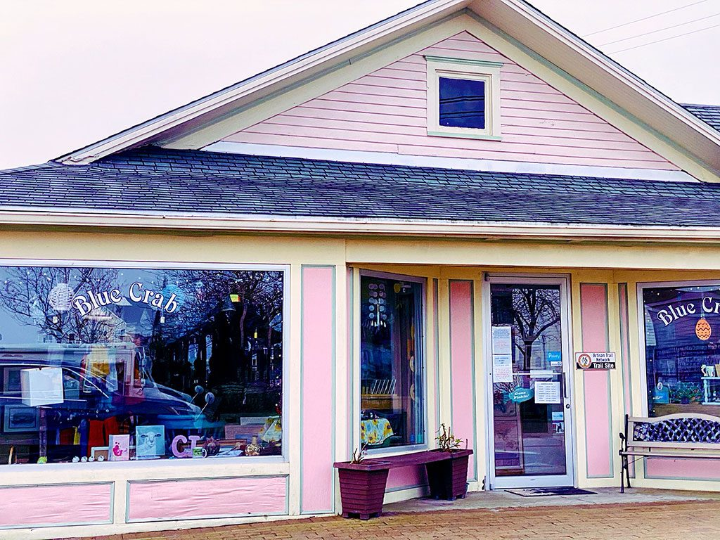 Blue Crap Treasures in Chincoteague VA