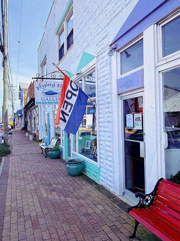 Chincoteague Island Virginia - things to do in Chincoteague VA - Main Street
