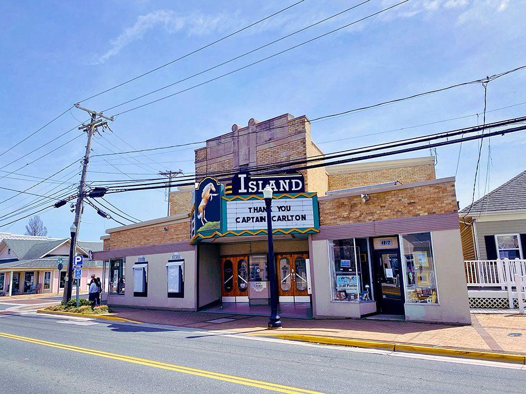 Chincoteague Island Virginia - things to do in Chincoteague VA- Island Theater