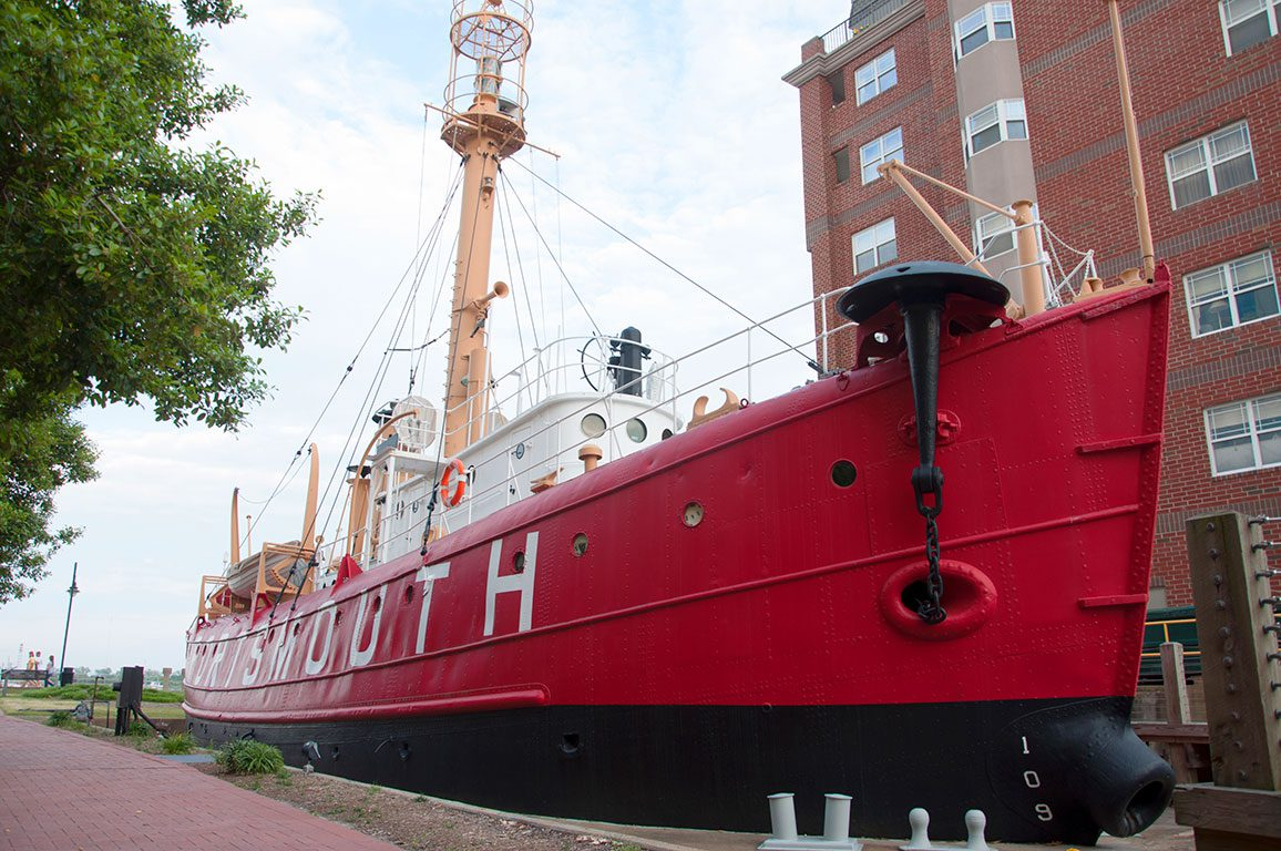 Virginia Lighthouse- Lightship Portsmouth