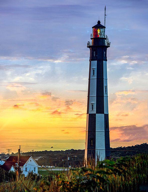 Virginia Lighthouses - Cape-Henry Lighthouse