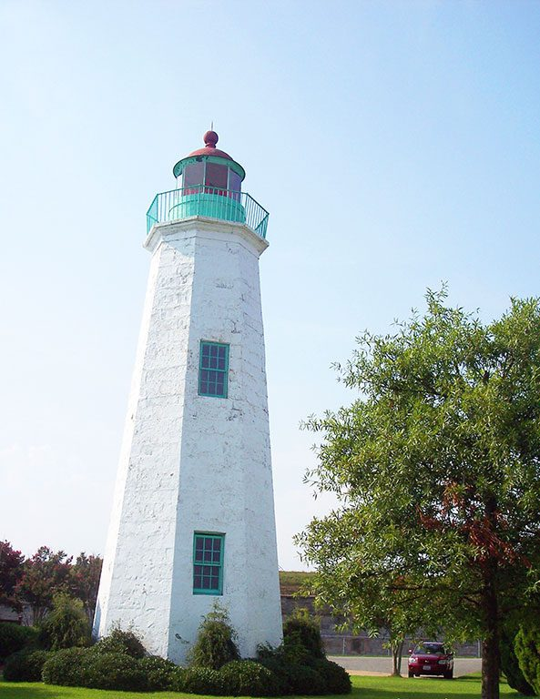 Virginia Lighthouses- Old Point Comfort