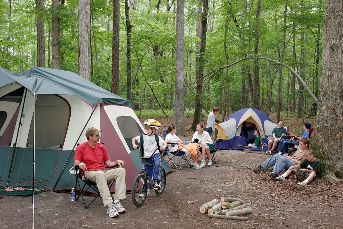 Newport News Park camping in Newport News VA