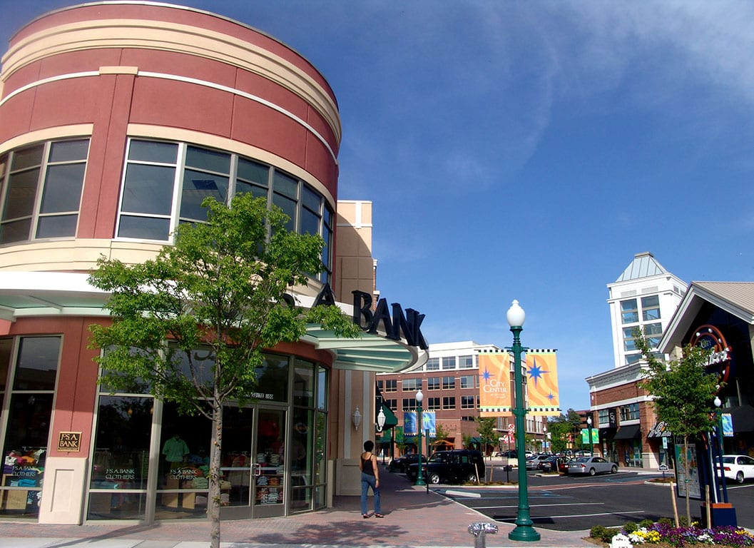 City Center at Oyster Point in Newport News VA
