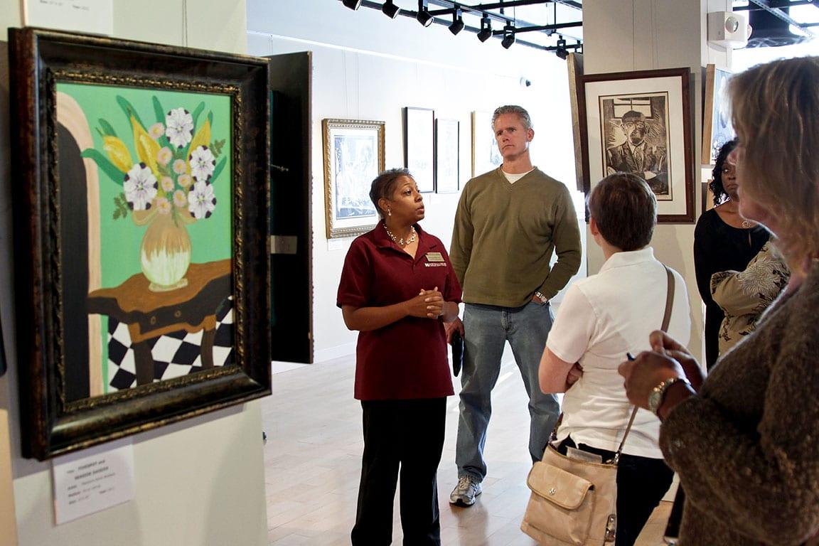 Downing Gross Art Gallery in Newport News VA