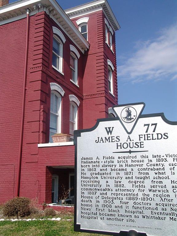 James A Field House in Newport News Virginia