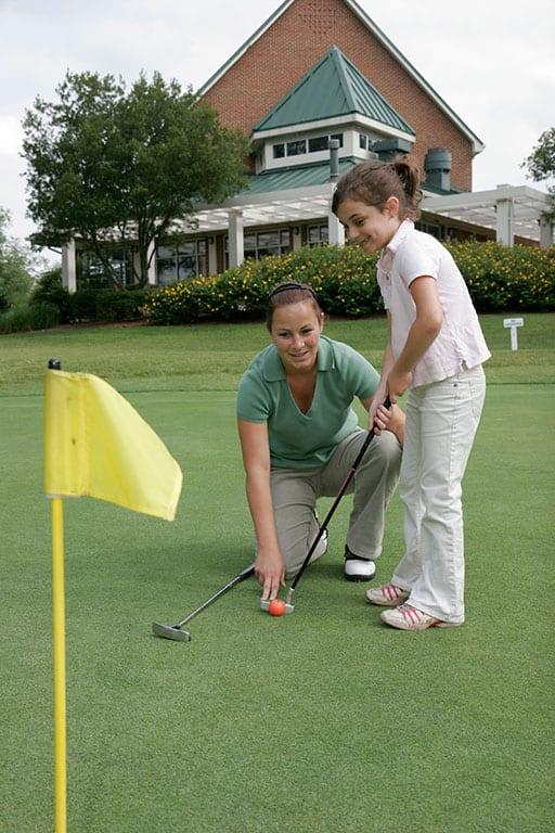 Golf in Newport News Park in Virginia