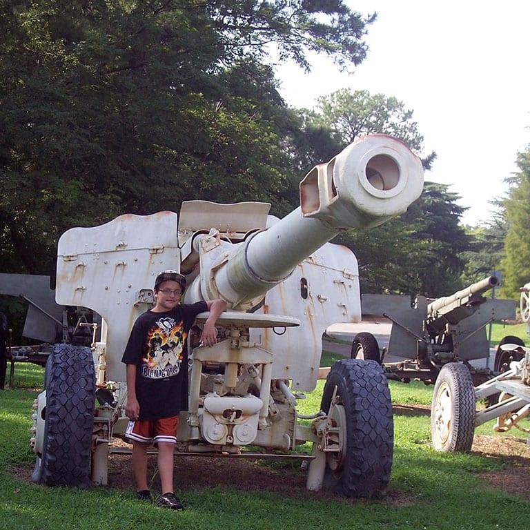Virginia War Museum in Newport Beach VA