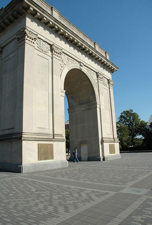 Victory Arch in Newport News VA