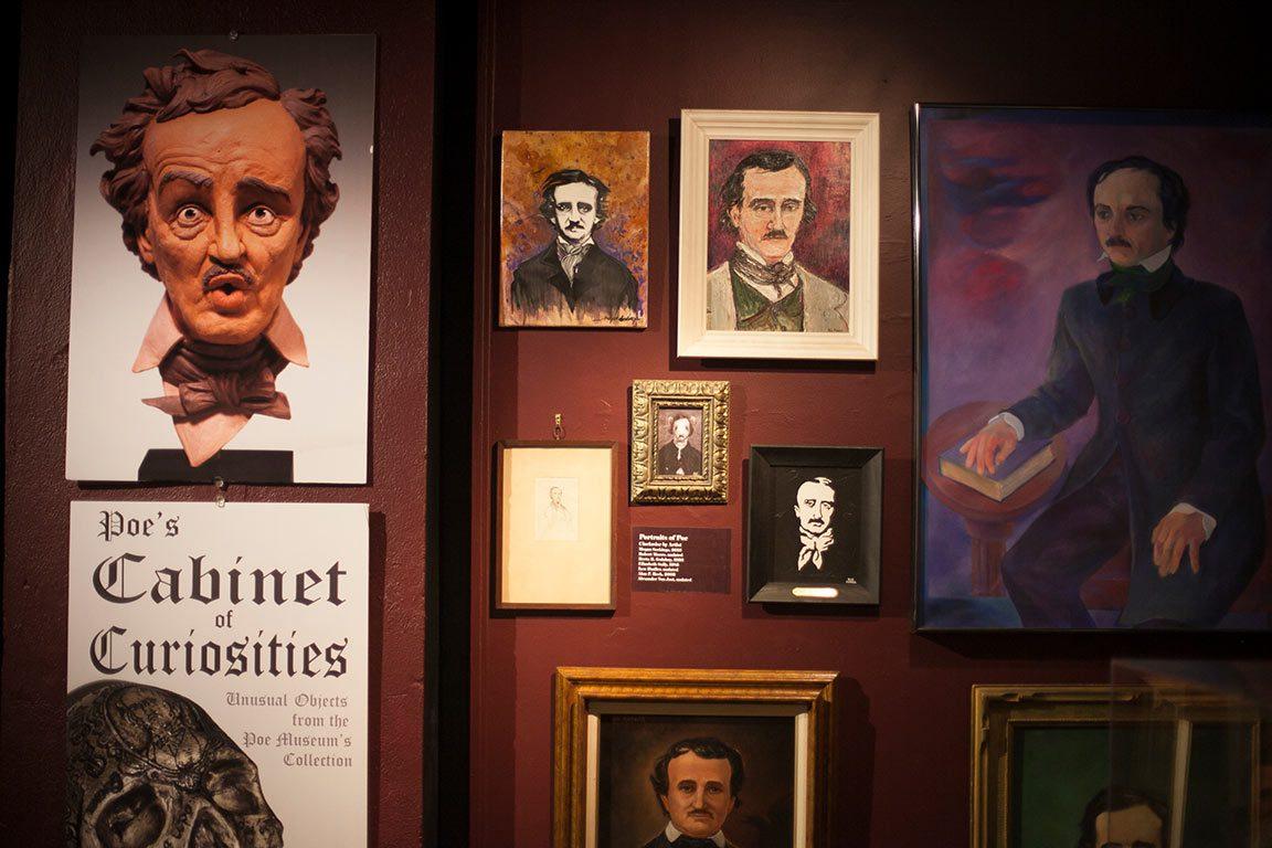 Edgar Allan Poe Museum in Richmond Virginia