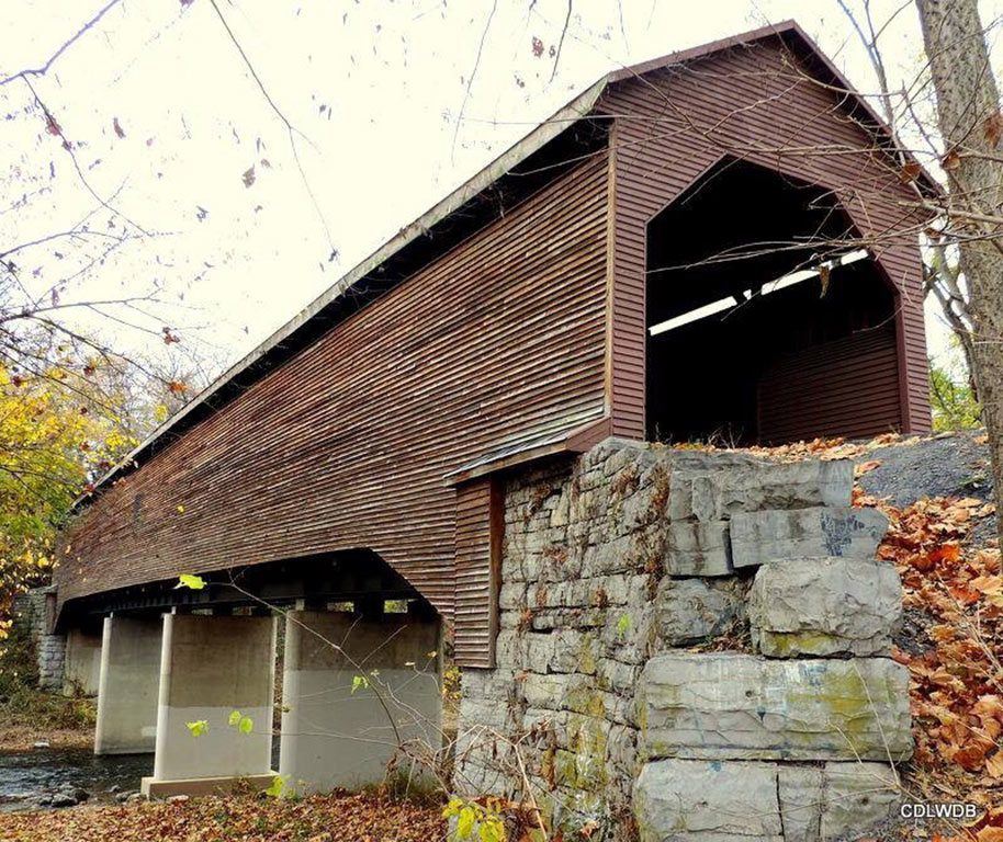 Meems Bottom Covered Bridge in Shenandoah County Virginia