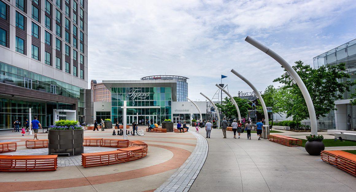 Tyson's Corner Center in Arlington Virginia USA