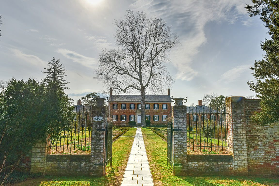 Chatham Manor in Stafford County Virginia