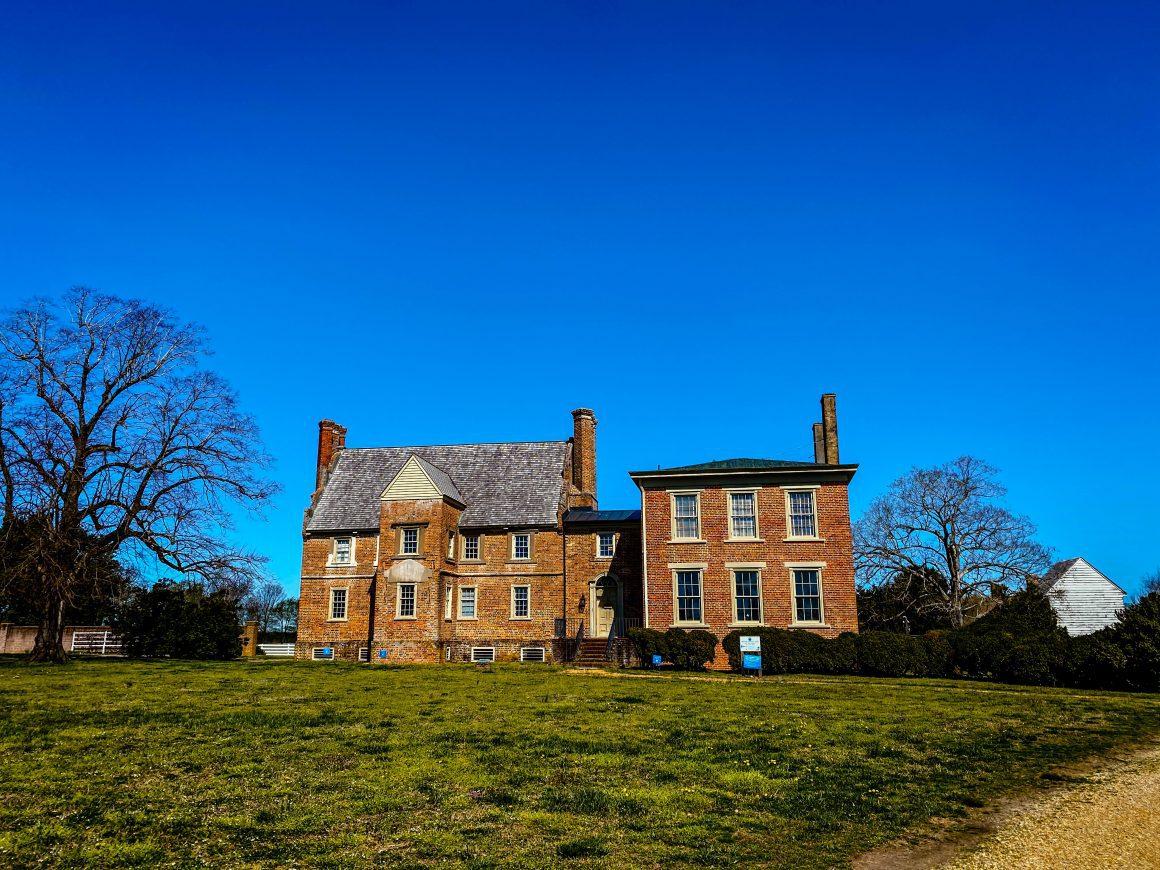 Bacon's Castle in Surry Virginia