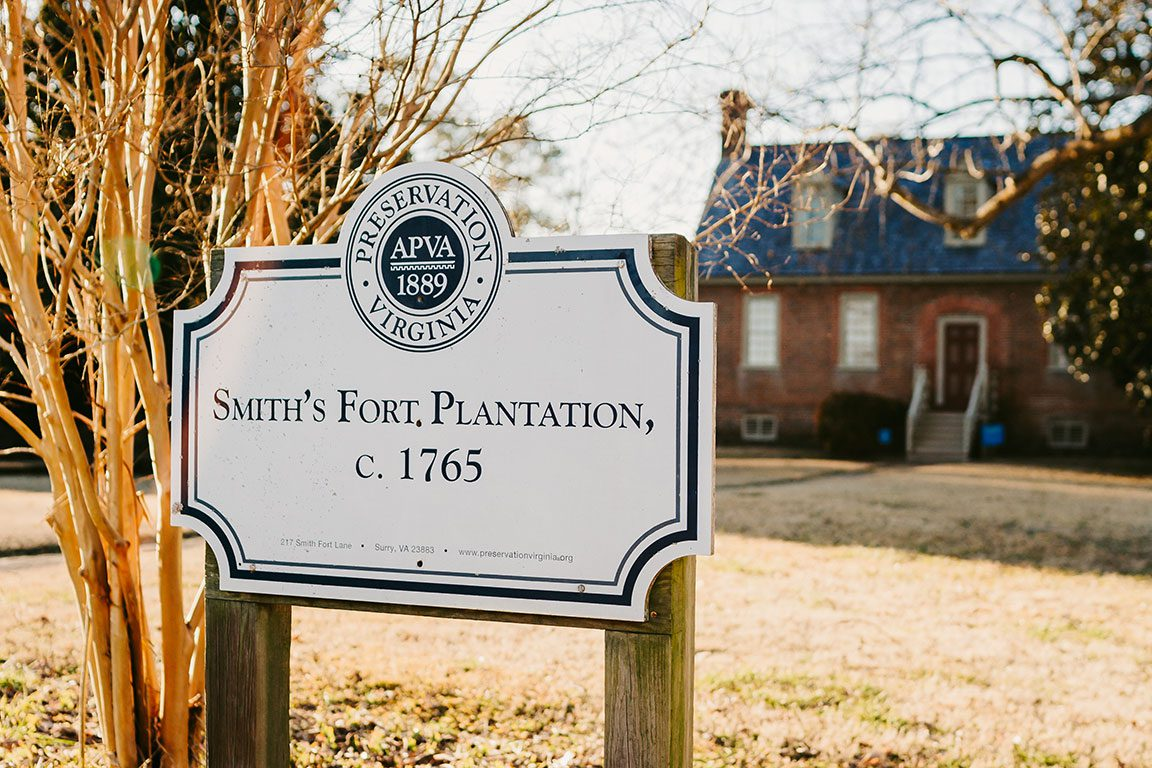 Surry Virginia- Smith's Fort Plantation