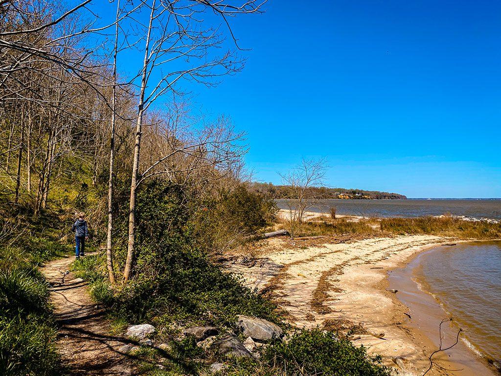 Surry VA- James River Beach