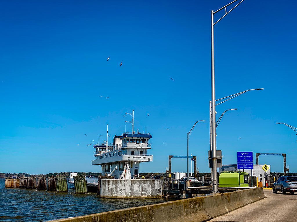 Surry Virginia- Jamestown-Scotland Ferry