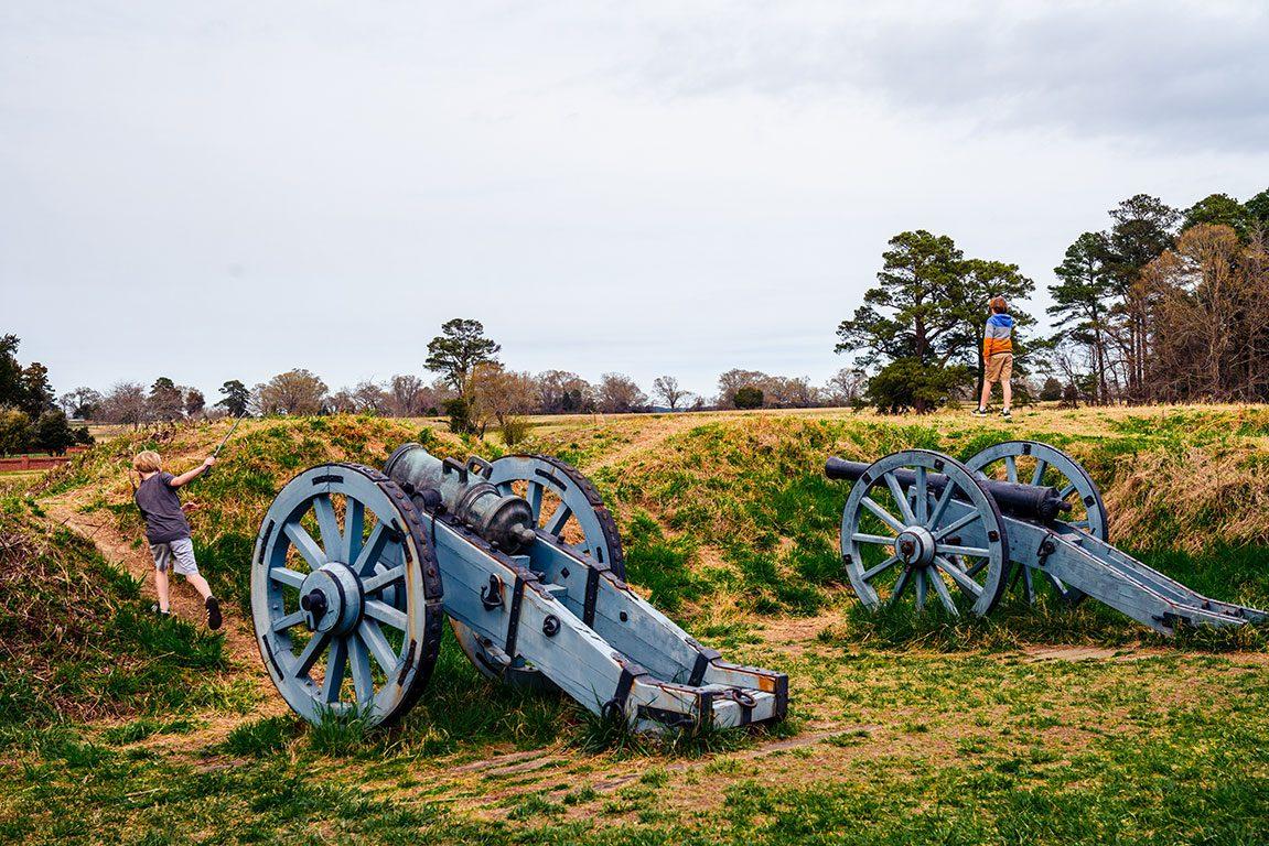 Yorktown Colonial NHP Yorktown Battlefield - Things to do in Yorktown Virginia