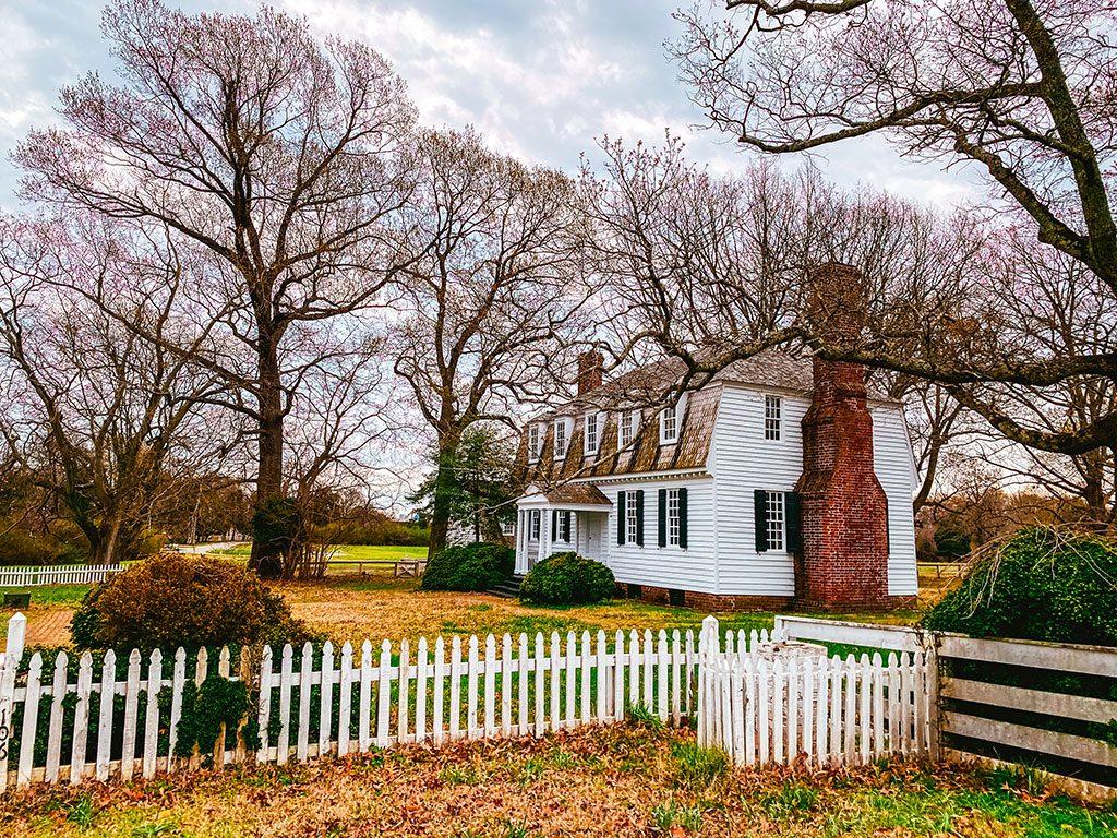 Yorktown Battlefield Virginia - Morris House