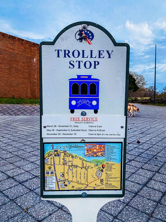 Yorktown Trolley Stop
