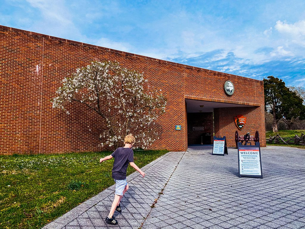 Yorktown Battlefield Visitors Center Virginia