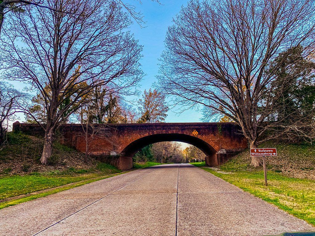 Colonial Parkway Yorktown