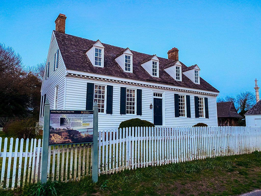 Dudley Digges House- Yorktown Virginia