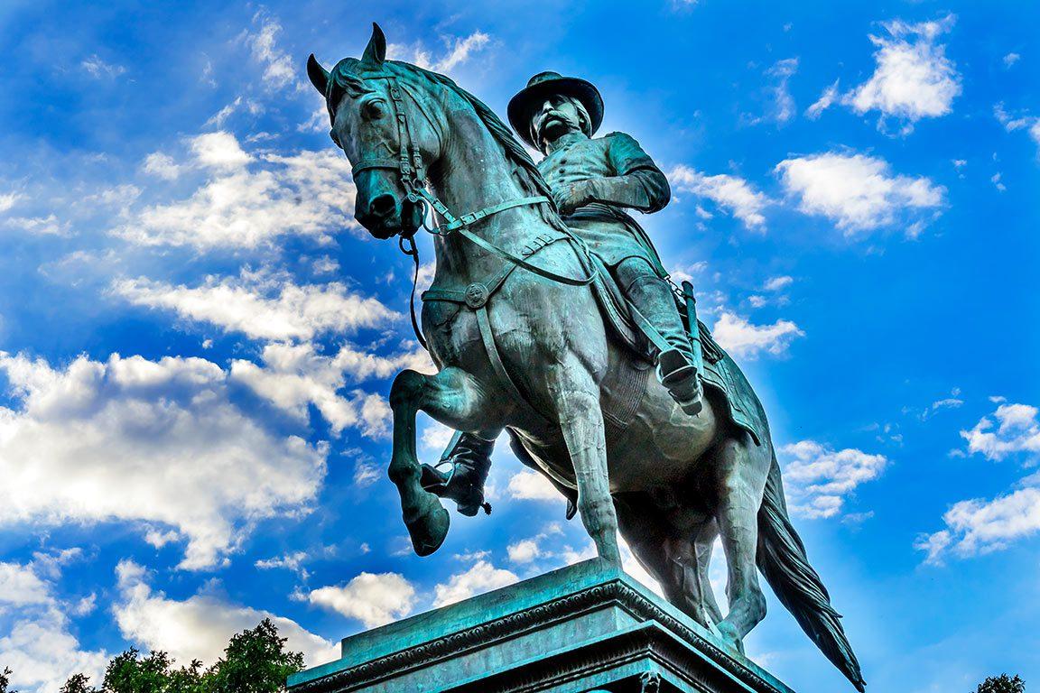 Logan Circle in Washington DC - General John Logan Civil War Memorial