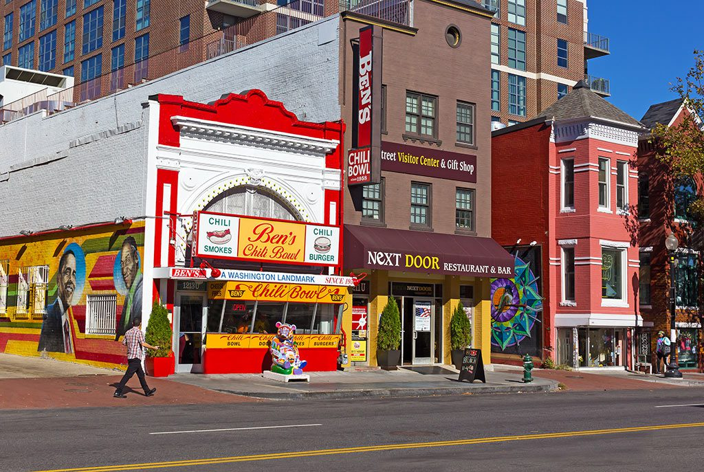 Washington DC U Street Neighborhood - Ben's Chili DC