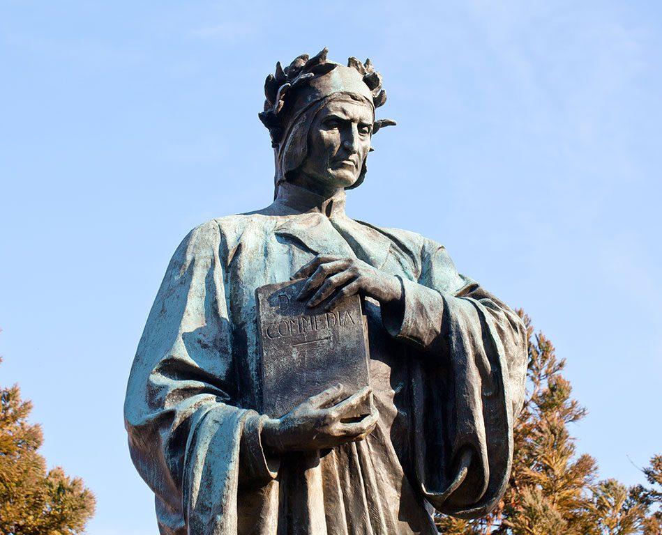 Meridian Hill Park in Washington DC- Dante Statue