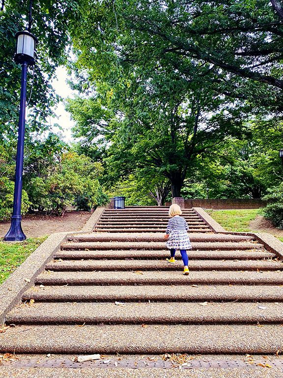 Meridian Hill Park- National Parks in Washington DC