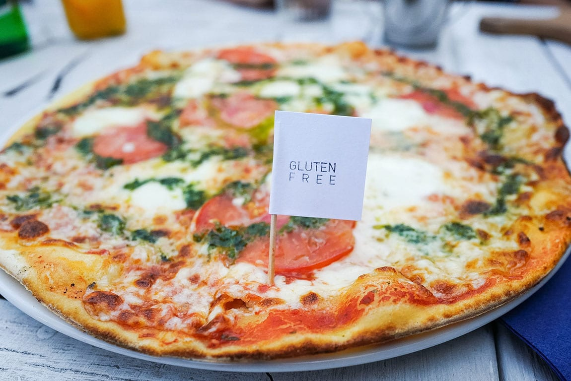 gluten Free pizza in Washington DC
