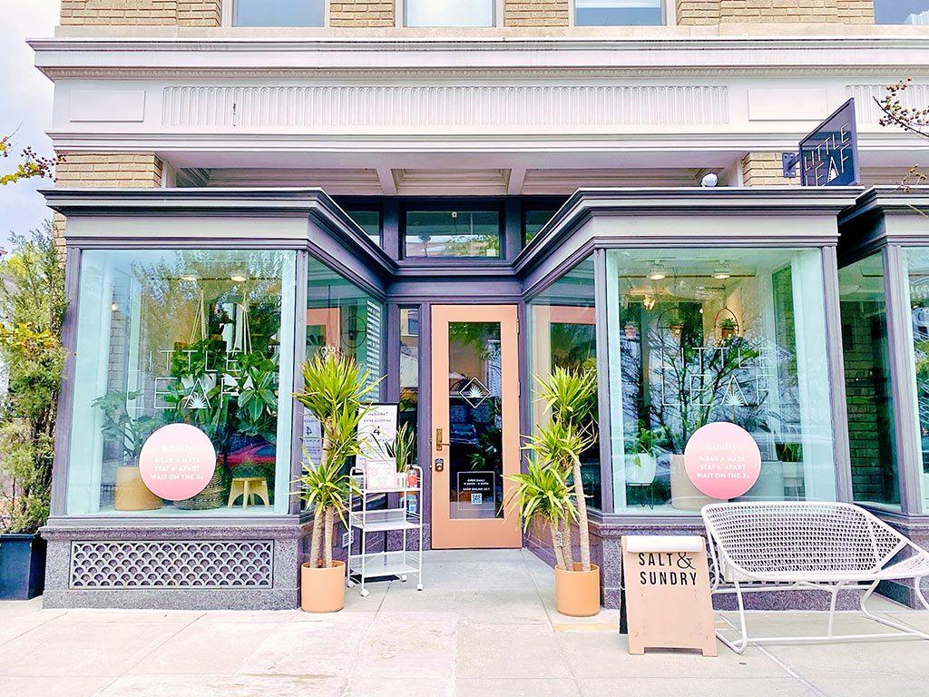 Little Leaf shop in Logan Circle U Street Washington DC