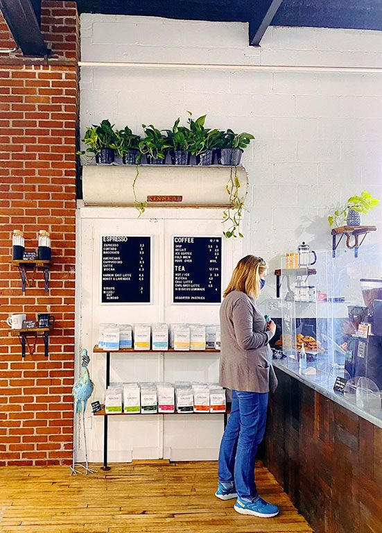 Aveley Farms Coffee Shop in Baltimore Maryland