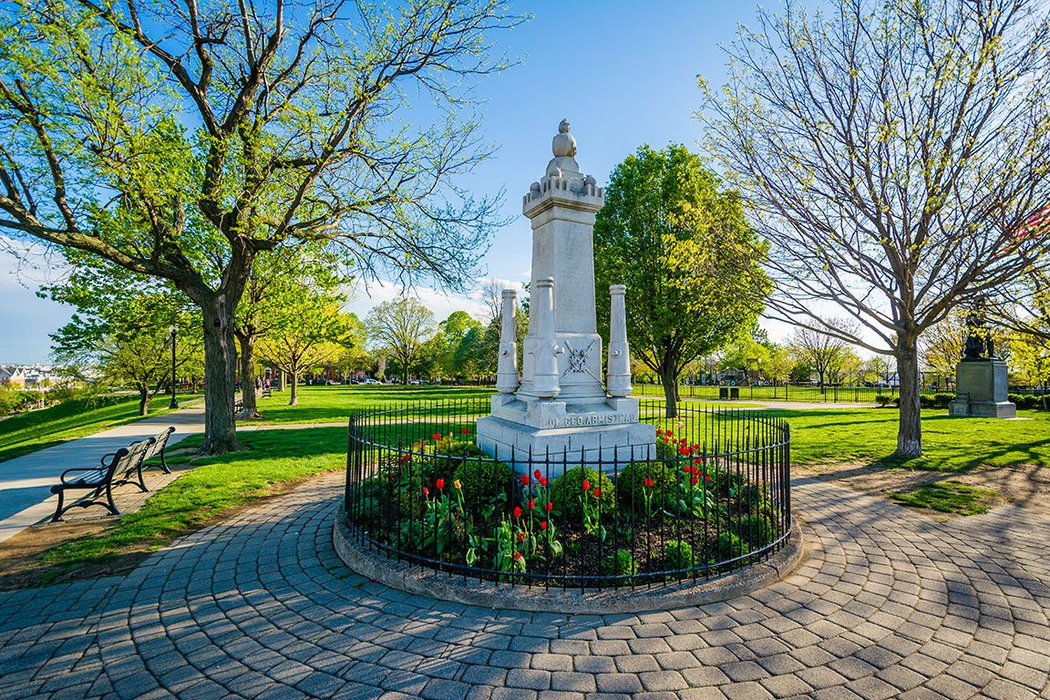 Federal Hill Park in Baltimore Maryland