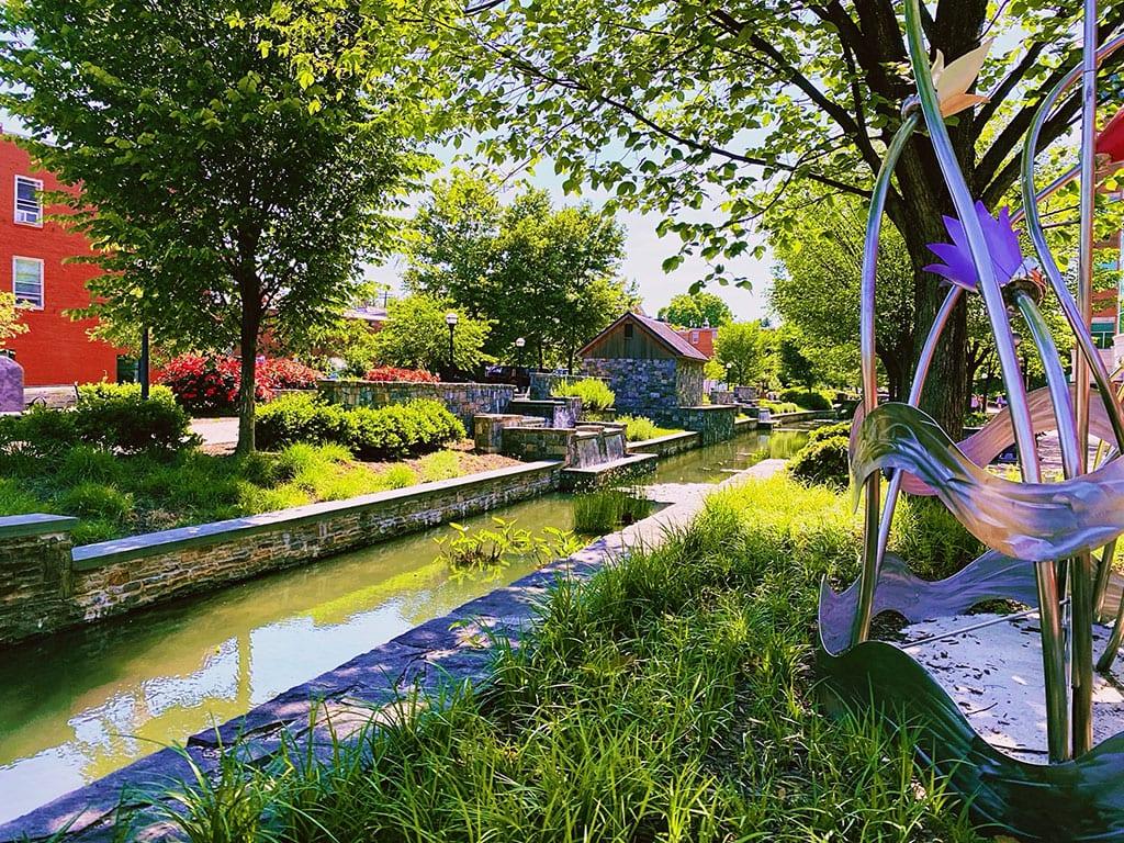 Carrol Creek in Frederick Maryland